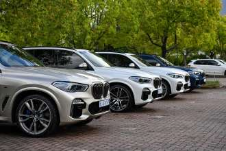On Location Pictures: The all-new BMW X5 national media launch, South Africa. (11/2018)