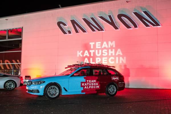 KATUSHA ALPECIN and BMW (12/2018)