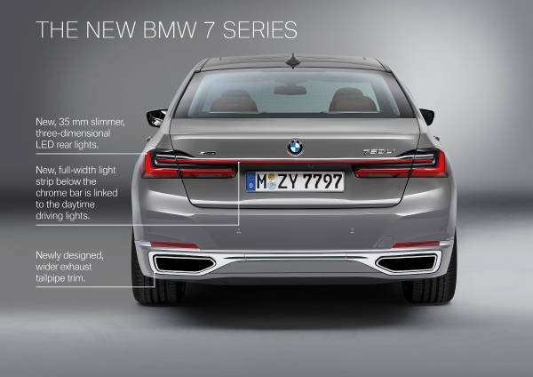 New Bmw 7 Series >> The New Bmw 7 Series