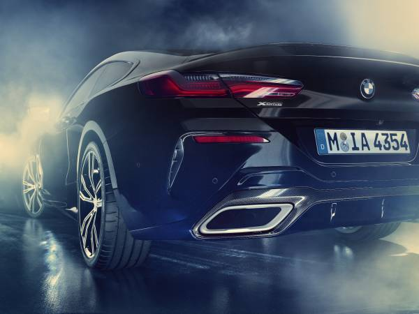 The all-new BMW Individual M850i xDrive Coupé Night Sky (01/2019).