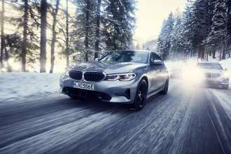 The BMW 330e Sedan, the BMW i3s and the BMW x5 xDrive45e (12/2018).