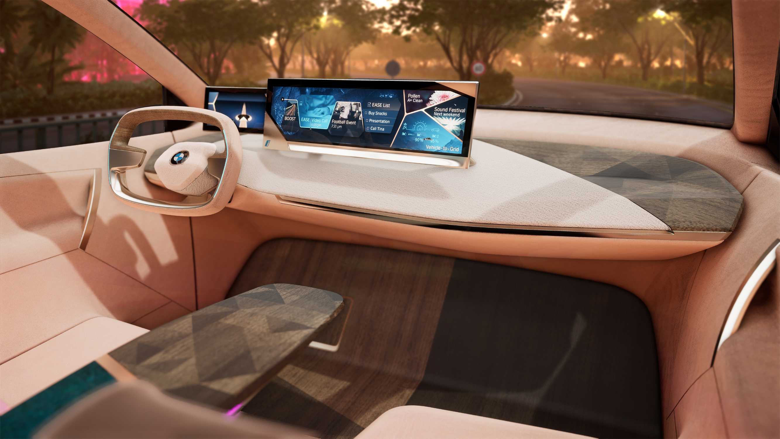 Bmw Group At The Ces 2019 In Las Vegas Virtual Drive In The Bmw