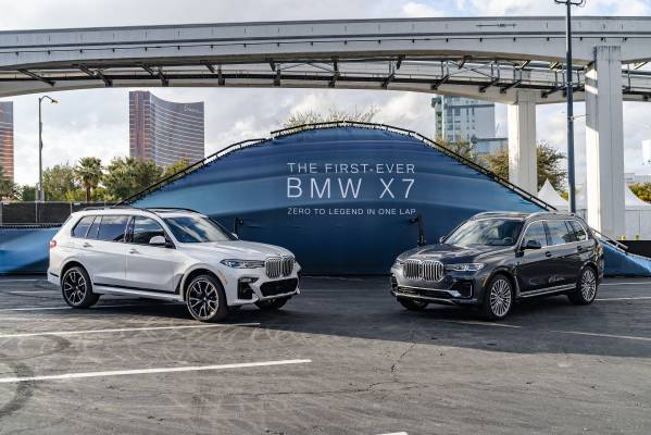 BMW Group @ CES 2019 – BMW X7 off-road experience. (01/2019)