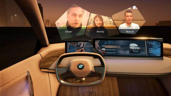 BMW Group @ CES 2019 – Mixed Reality Videoconference (01/2019)