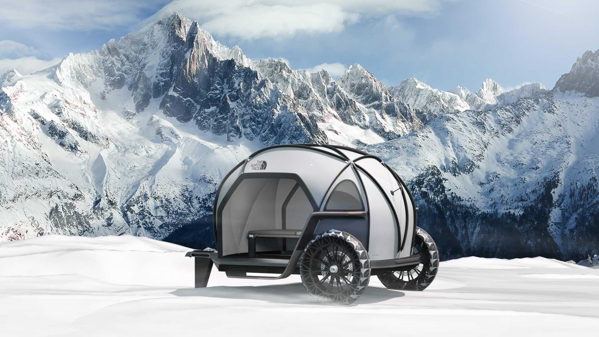 Designworks Collaborates with The North Face to Imagine New Camper Concept.
