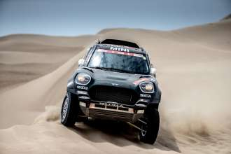 2019 Dakar, Stage 1, Nani Roma (ESP), Alex Haro ESP) - MINI John Cooper Works Rally - X-raid MINI John Cooper Works Rally Team, #307 - 07-01-2019