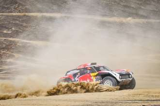 2019 Dakar, Stage 3, Stephane Peterhansel (FRA) , David Castera (FRA) - MINI John Cooper Works Buggy - X-raid MINI John Cooper Works Team - #304 - 09.01.2019