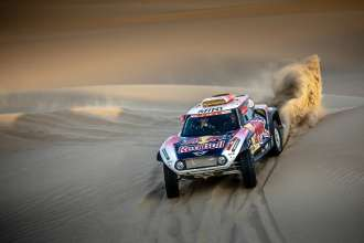2019 Dakar, Stage 2, Stephane Peterhansel (FRA) , David Castera (FRA) - MINI John Cooper Works Buggy - X-raid MINI John Cooper Works Team - #304 - 08.01.2019