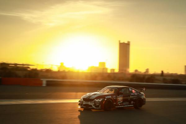 Dubai (UAE), 11th-12th January 2019. BMW Customer Racing, Dubai 24 Hours, BMW M4 GT4.