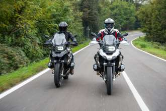 BMW R1250 GS and BMW R1250 RT (01/2019)