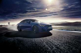 The BMW M4 Coupe (01/2019).