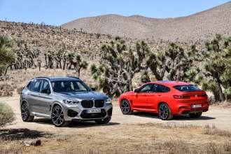 Der neue BMW X3 M Competition und der neue BMW X4 M Competition (02/2019).