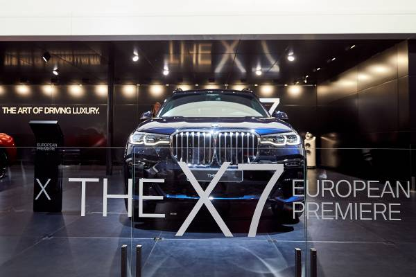 Brussels Motor Show 2019 - Press Conference BMW & MINI - Overview of 2018 - Outlook to 2019 - European premiere BMW X7 (01/2019)