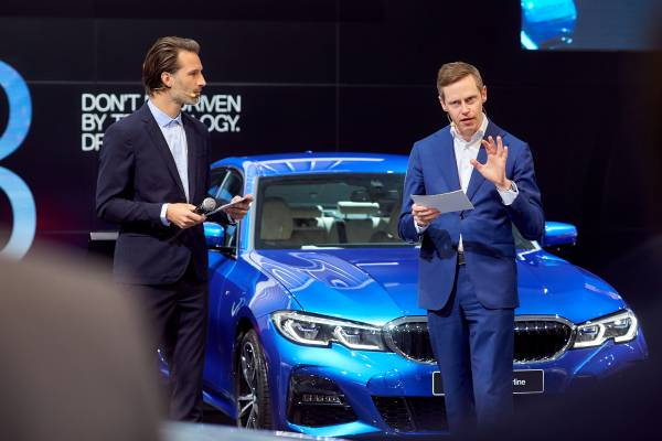 Brussels Motor Show 2019 - Press Conference BMW & MINI - Overview of 2018 - Outlook to 2019 - Gabriel Goffoy (01/2019)