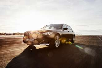 The new BMW 745Le (02/2019).