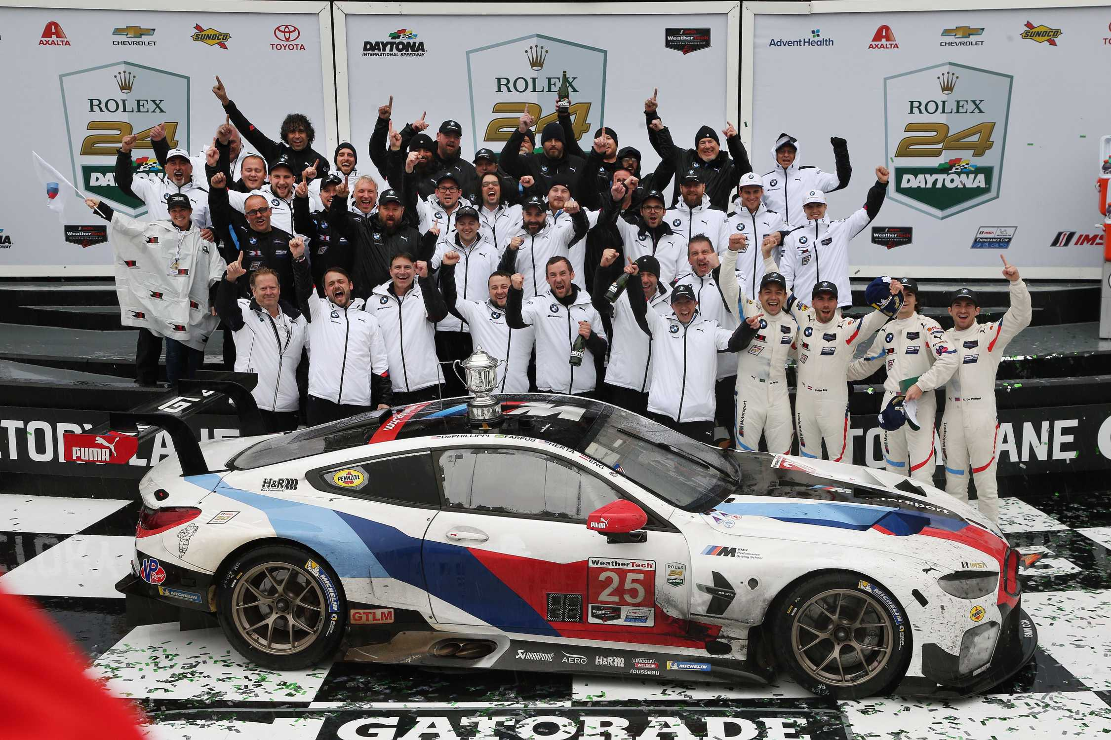 BMW wins the 24 Hours of Daytona and dedicates victory to Charly ...