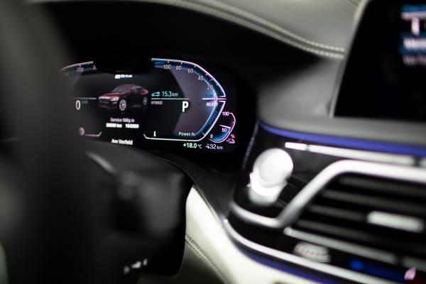 The new BMW 745Le - Interieur (02/2019).