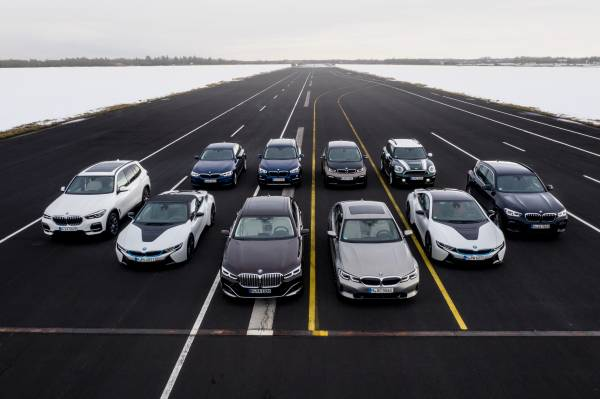 BMW Group electrified vehicles (03/2019).