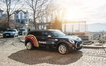 MINI is the mobility partner of Plovdiv European Capital of Culture 2019 (02/2019)