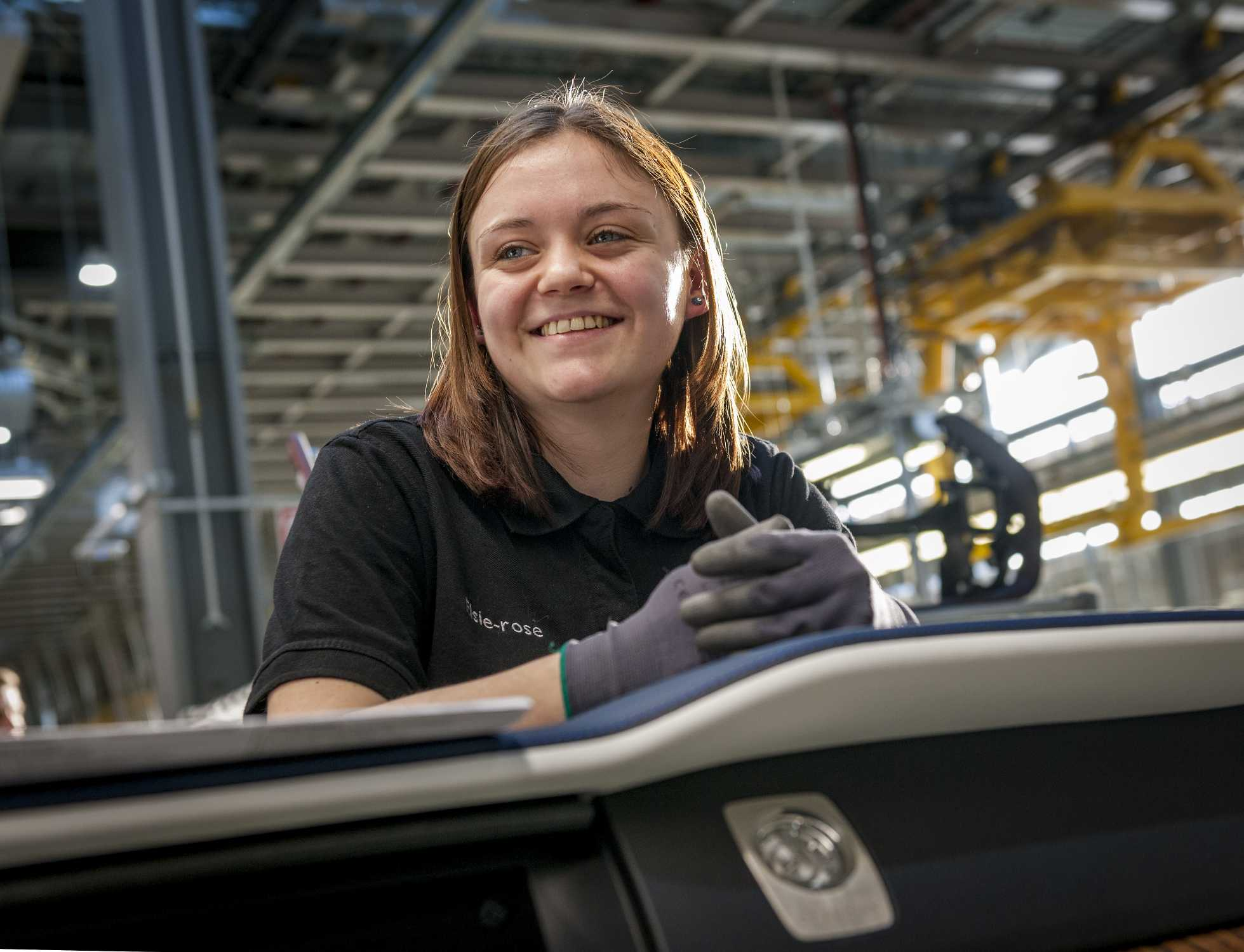 ELSIE-ROSE ROBBINS, ROLLS-ROYCE MOTOR CARS APPRENTICE