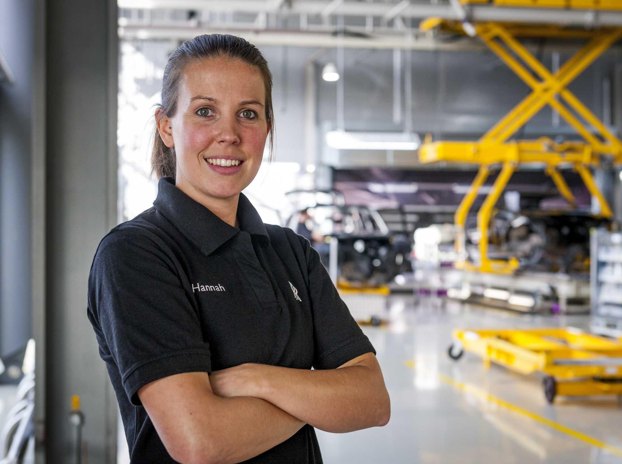 HANNAH BANYARD, ROLLS-ROYCE MOTOR CARS APPRENTICE