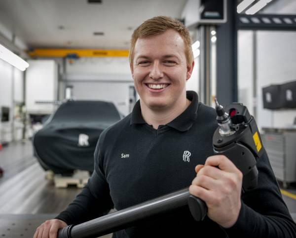 SAM ROWE, ROLLS-ROYCE MOTOR CARS APPRENTICE