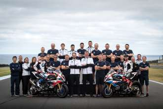 22nd February 2019. Phillip Island (AUS). BMW Motorrad Motorsport. FIM Superbike World Championship. BMW Motorrad WorldSBK Team, BMW S 1000 RR