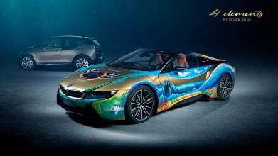 BMW i8 Roadster 4 elements by Milan Kunc. (02/2019)