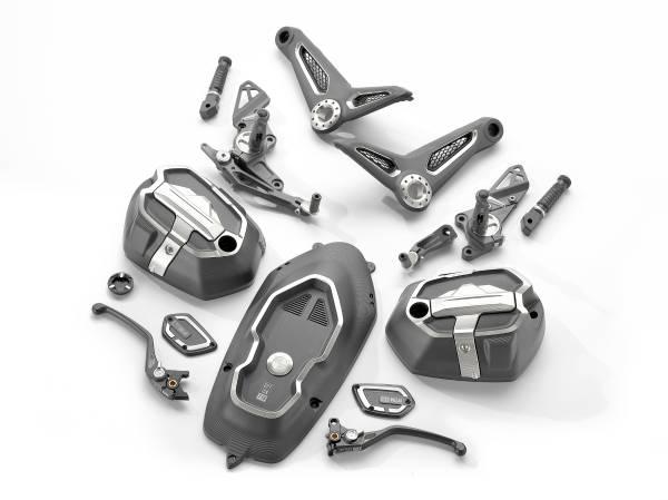 Original BMW Motorrad Accessories. Option 719 milled parts pack Storm. (03/2019)