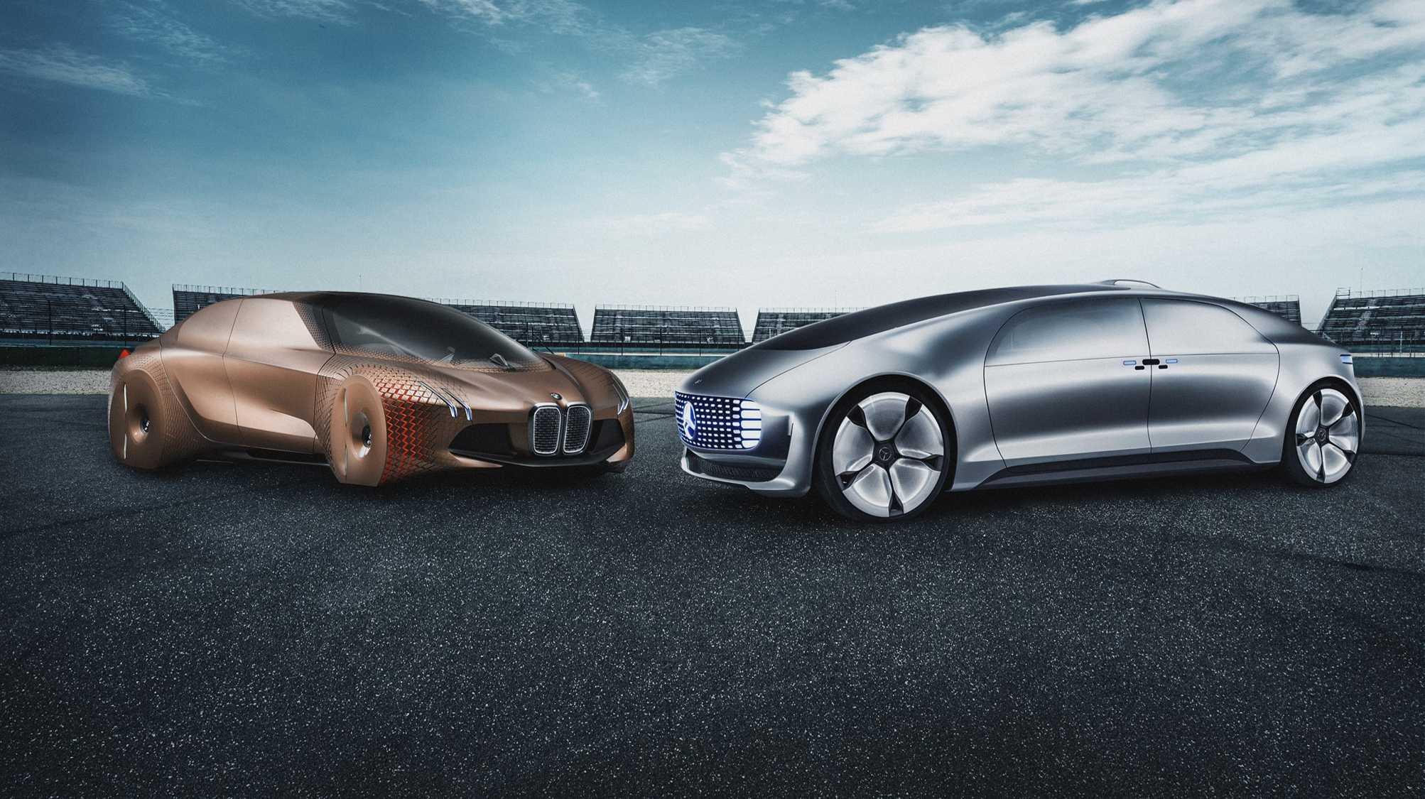 BMW und Daimler. Vereint beim Autonomen Fahren.