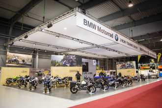 BMW Motorrad at Motosalon 2019 in Prague (02/2019)