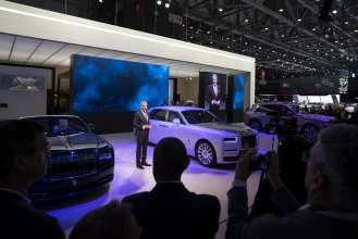 Rolls Royce Motor Cars At The Geneva Motor Show Remarks By