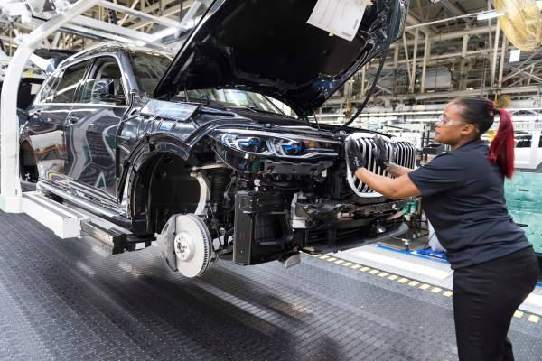 Bmw Manufacturing Continues As Largest U S Automotive Exporter By Value
