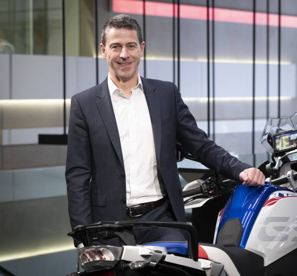 BMW Group Belux - Eddy Haesendonck at the BMW Motorrad Dealer Clash 2019 in the BMW Brand Store Brussels (03/2019)