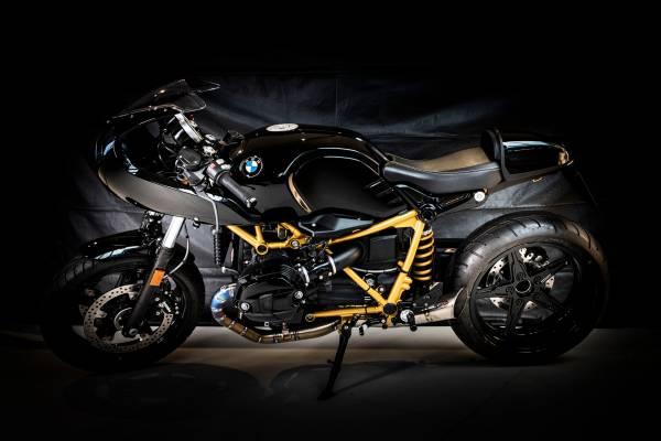 'Black Bullit' by BMW Brussels – participant BMW Motorrad Belux Dealer Clash 2019
