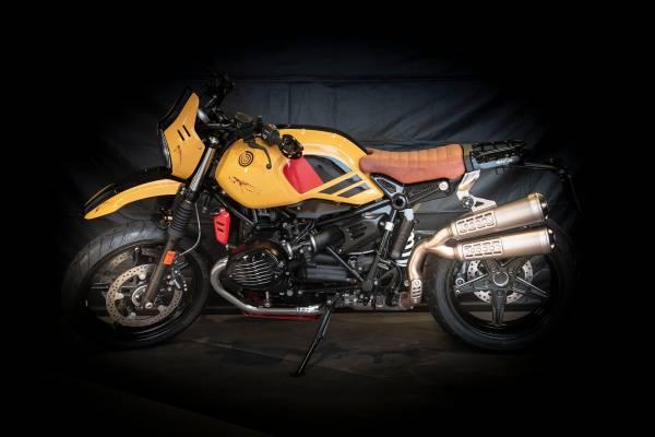 'Black Mamba' by Meeusen Motoren Antwerpen – participant BMW Motorrad Belux Dealer Clash 2019