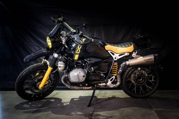 'Bumblebee 1200' by M&M Inghelbrecht – participant BMW Motorrad Belux Dealer Clash 2019