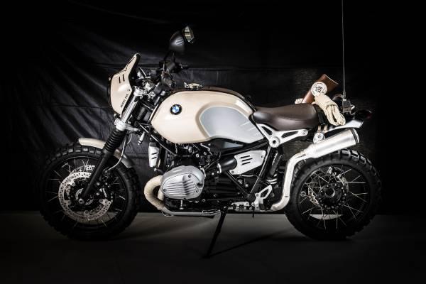 'Opération Renard du désert' by Depotter Motorbikes – participant BMW Motorrad Belux Dealer Clash 2019