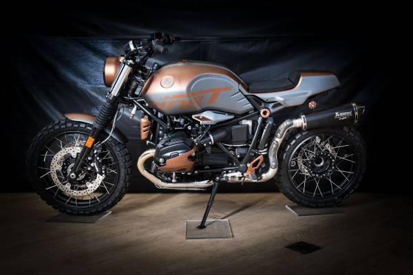 'The Pathfinder' by Bilia-Emond – participant BMW Motorrad Belux Dealer Clash 2019