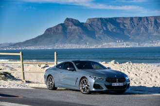 The new BMW 8 Series Coupe in South Africa.