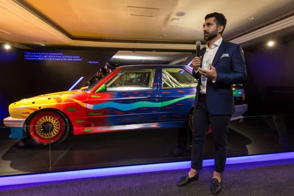 BMW Group Middle East debuts BMW Art Car at annual Art Dubai