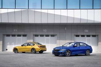 The all-new BMW Series sedan and the all-new BMW 3 Series Sedan, Long Wheelbase (03/2019).