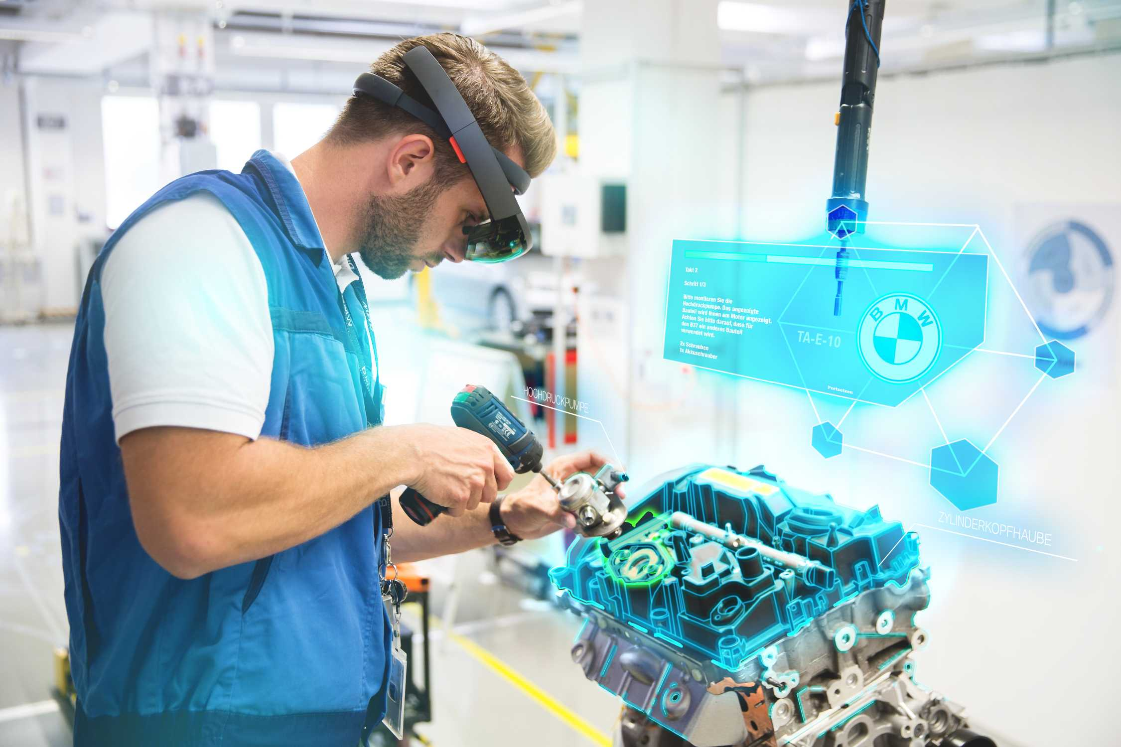 Absolutely Real Virtual And Augmented Reality Open New Avenues In The Bmw Group Production System