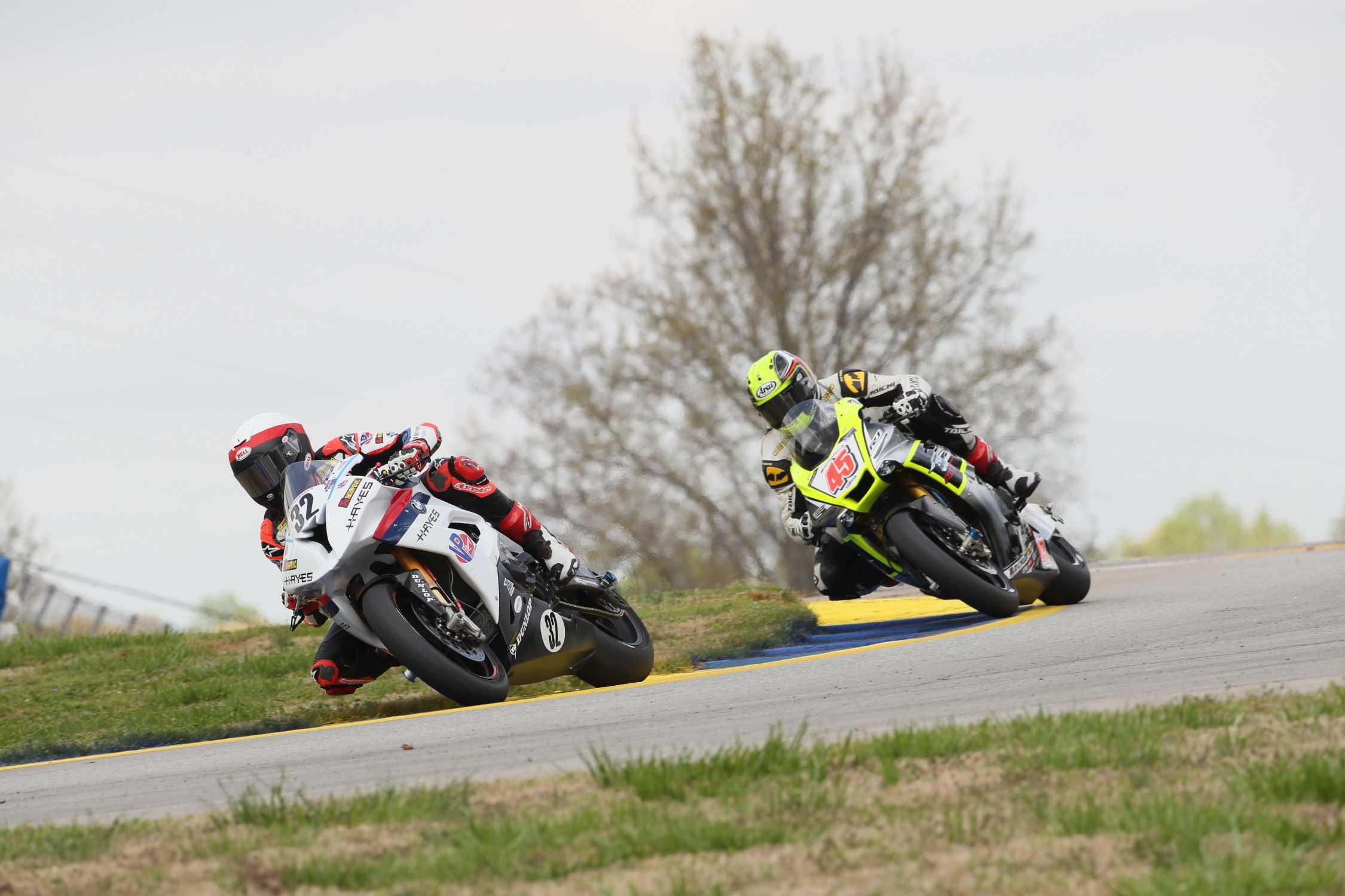 Road Atlanta Usa Motoamerica 07th April 2019 Team Bmw Scheibe Racing Rider Jack Cagne 32 Usa Riding The Bmw S1000rr