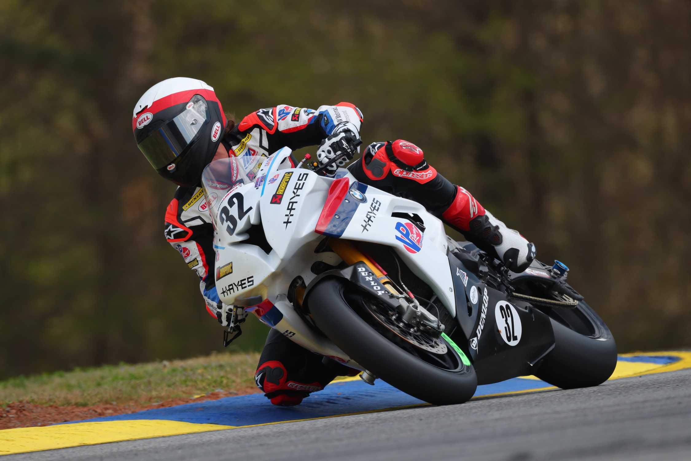bmw scheibe racing rider jack cagne 32