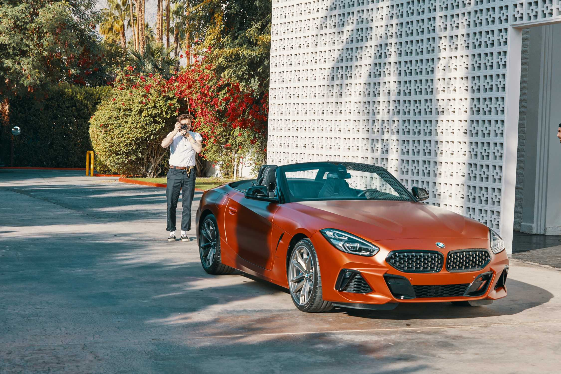 Cool And Dangerous Brooklyn Beckham Portrays The New Bmw Z4