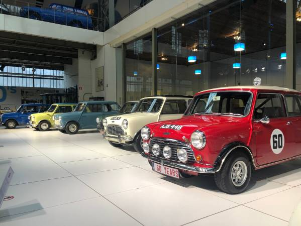 60 Years of Mini in Autoworld Brussels (04/2019)