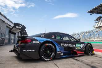 Lausitzring, 16th April 2019. BMW Bank M4 DTM, Bruno Spengler, DTM test