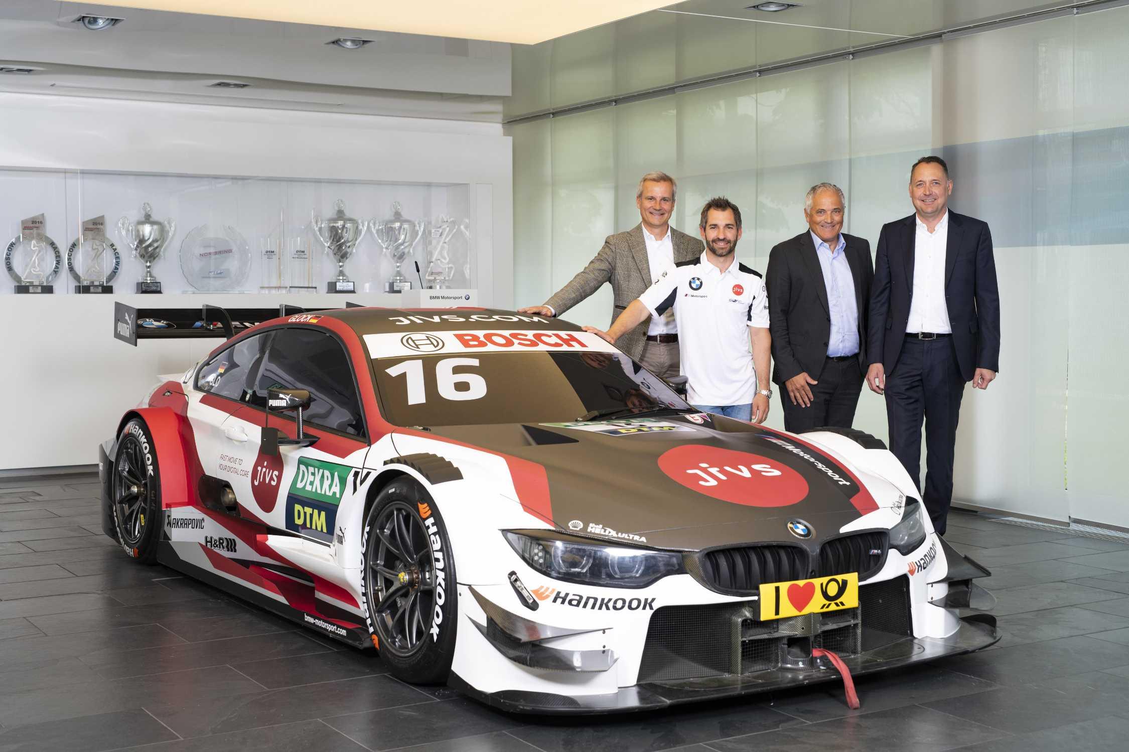 New Season New Bmw M Motorsport Premium Partner Timo Glock
