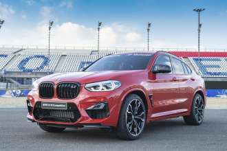 BMW M Power for the fastest qualifier: the new BMW X4 M